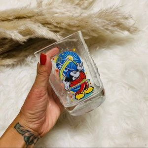 2000 Disney Mickey Mouse Fantasia Glass Cup